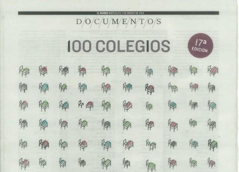 "Aloha College features in national newspaper El Mundo's ""100 Colegios"""